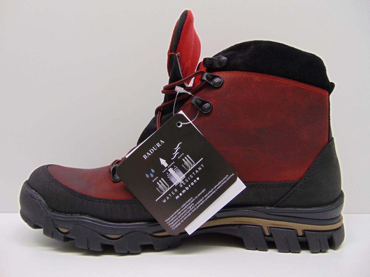 Buty trekkingowe Badura 4618 czerwone s. horse