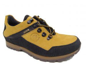 Półbuty męskie BADURA 3141 żółte 371 s. nubuk