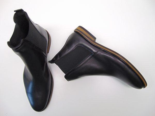 Botki męskie BADURA 5254-F czarne s. licowa