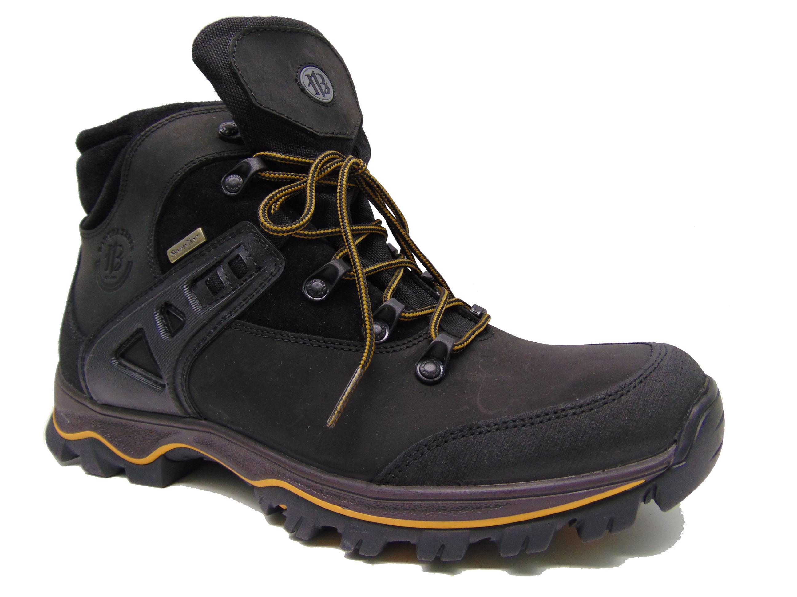 Buty trekkingowe BADURA 4580-054 czarne