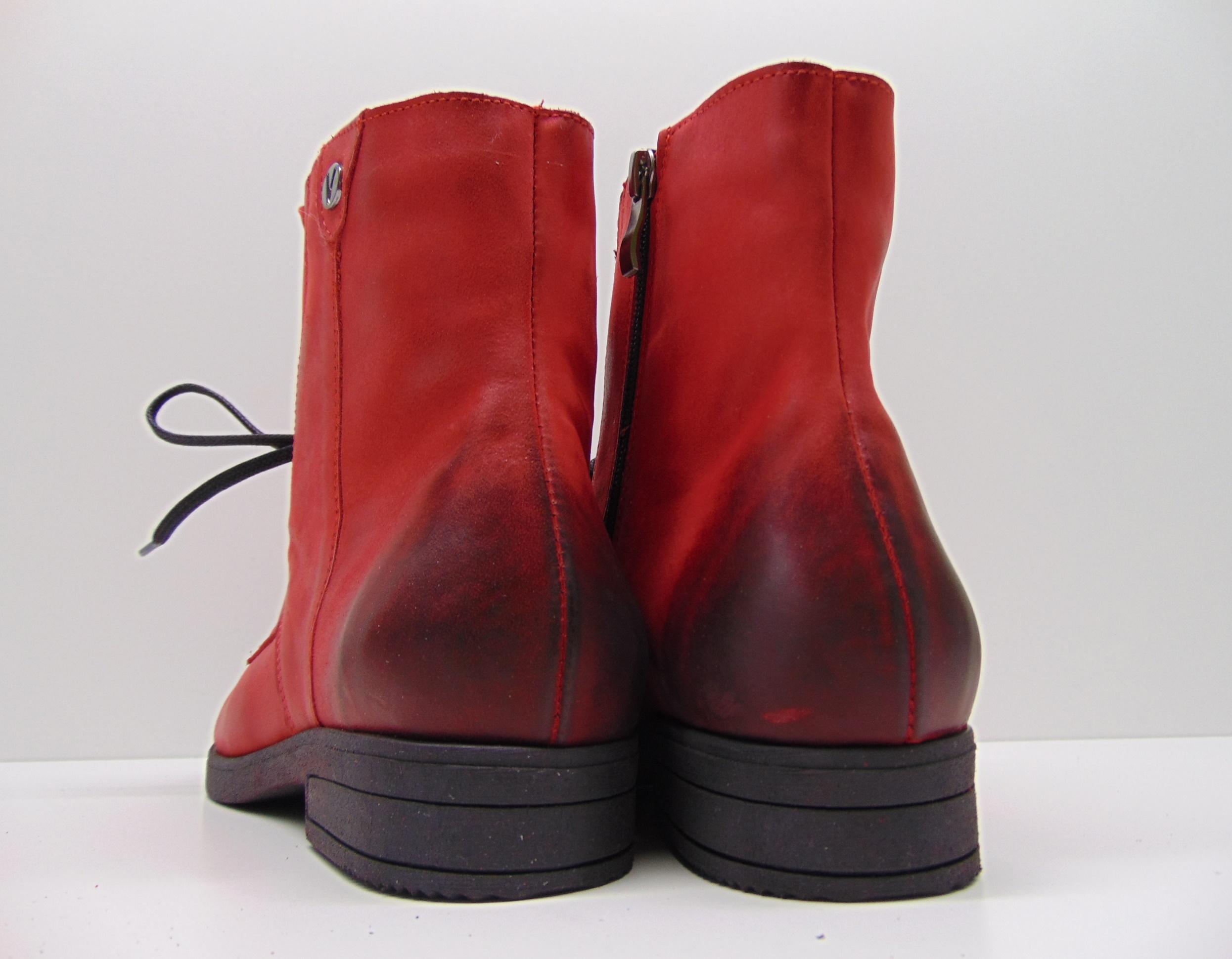 Botki RAMMIT 1156/5 czerwone L-10