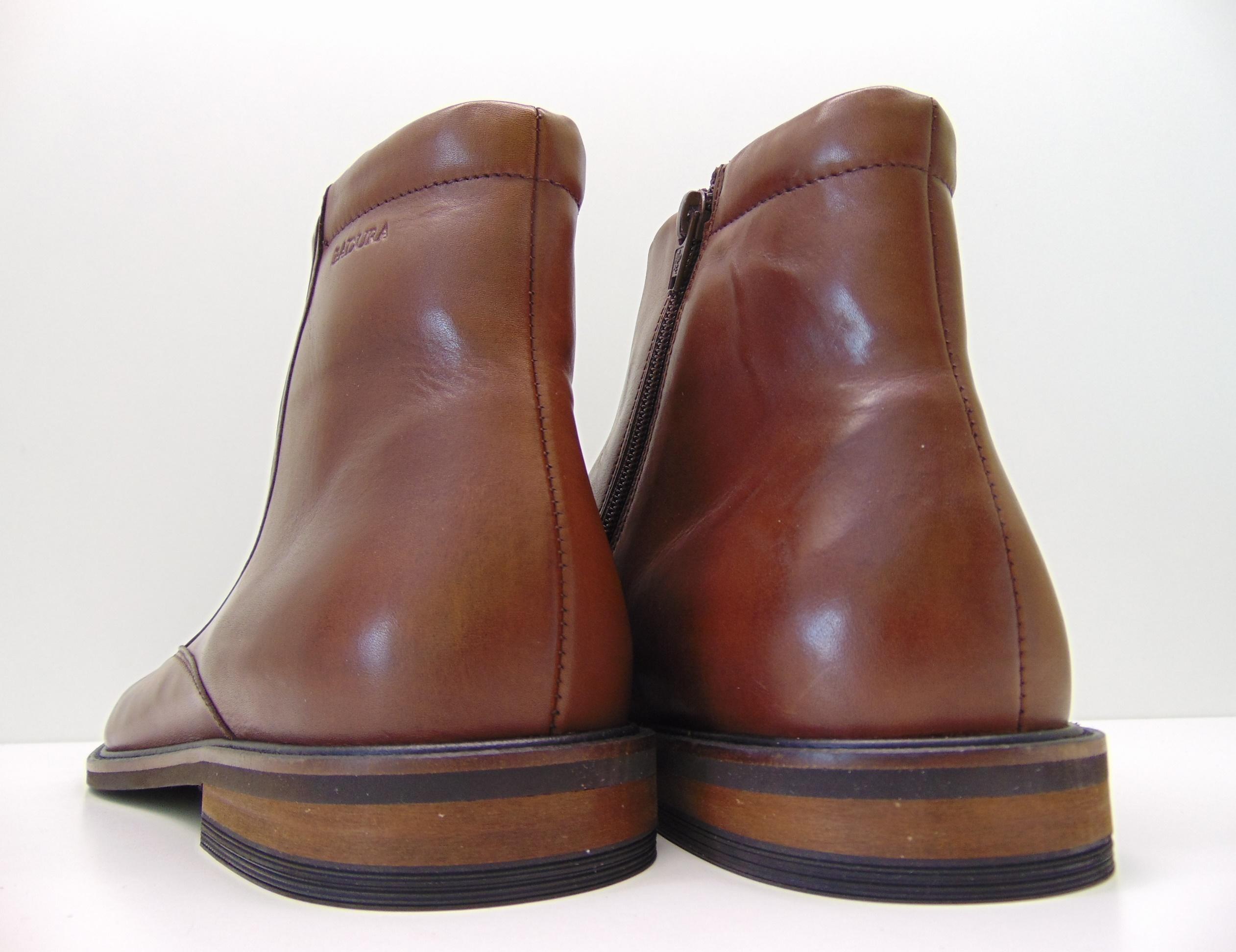 Botki męskie BADURA 5257-F brązowe s. crust