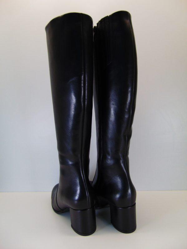Ocieplane kozaki Badura 9348 czarne s.licowa