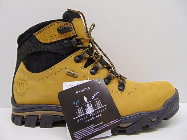 Buty trekkingowe BADURA 4611-371 żółte
