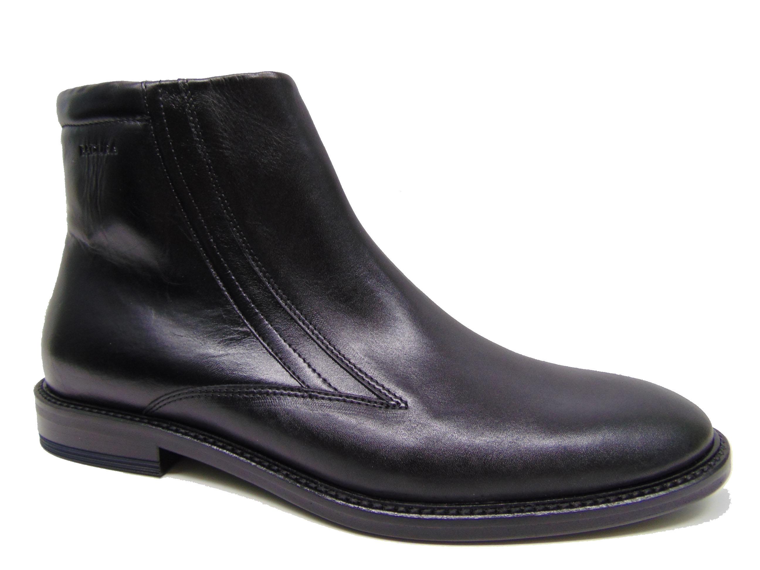 Botki męskie BADURA 5257-F czarne s. licowa