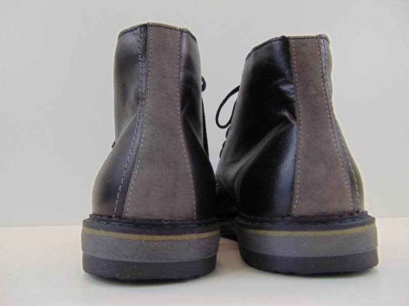 Buty męskie Rammit 987/5 czarne L-03 s. licowa
