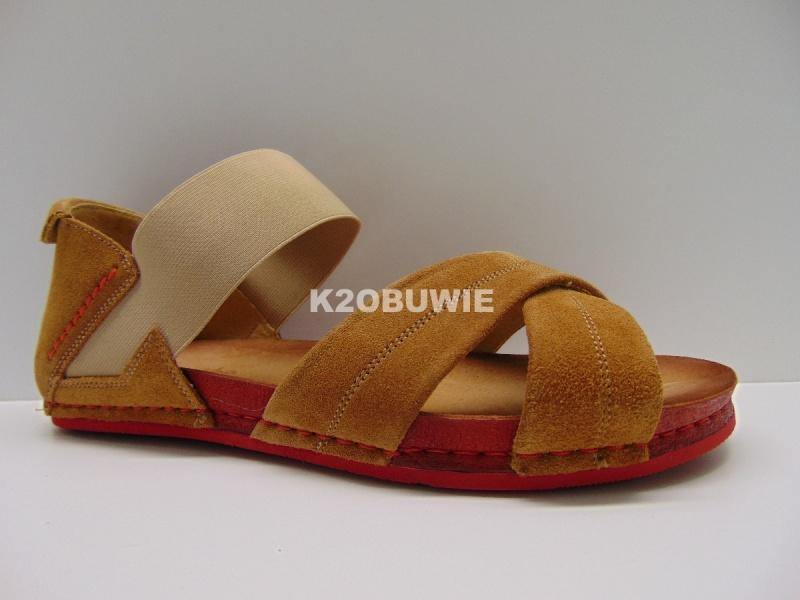 Sandały Maciejka 03056-29/00-5 rude