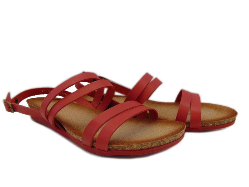 Sandały Maciejka 03069-08 czerwone