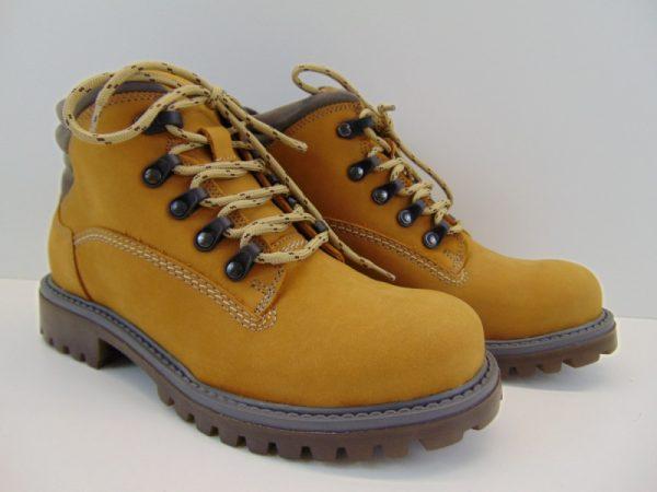 Buty Rammit 859 żółte N-02 s. nubuk