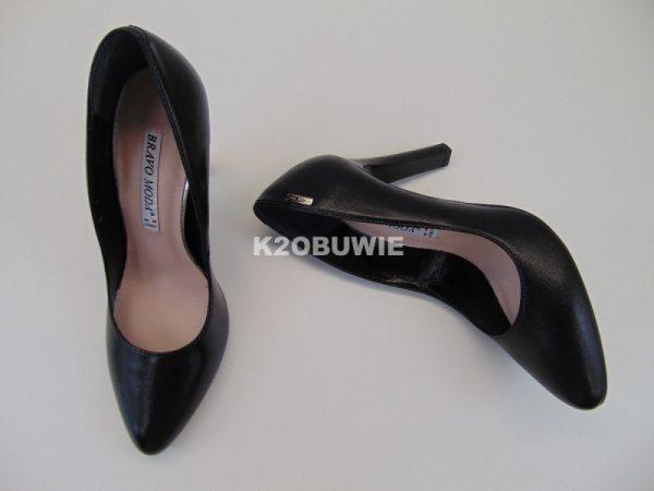 Czółenka Bravo Moda 1130 czarne s. licowa
