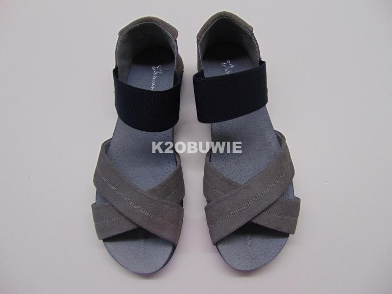 Sandały Maciejka 03056-03/00-5 szare