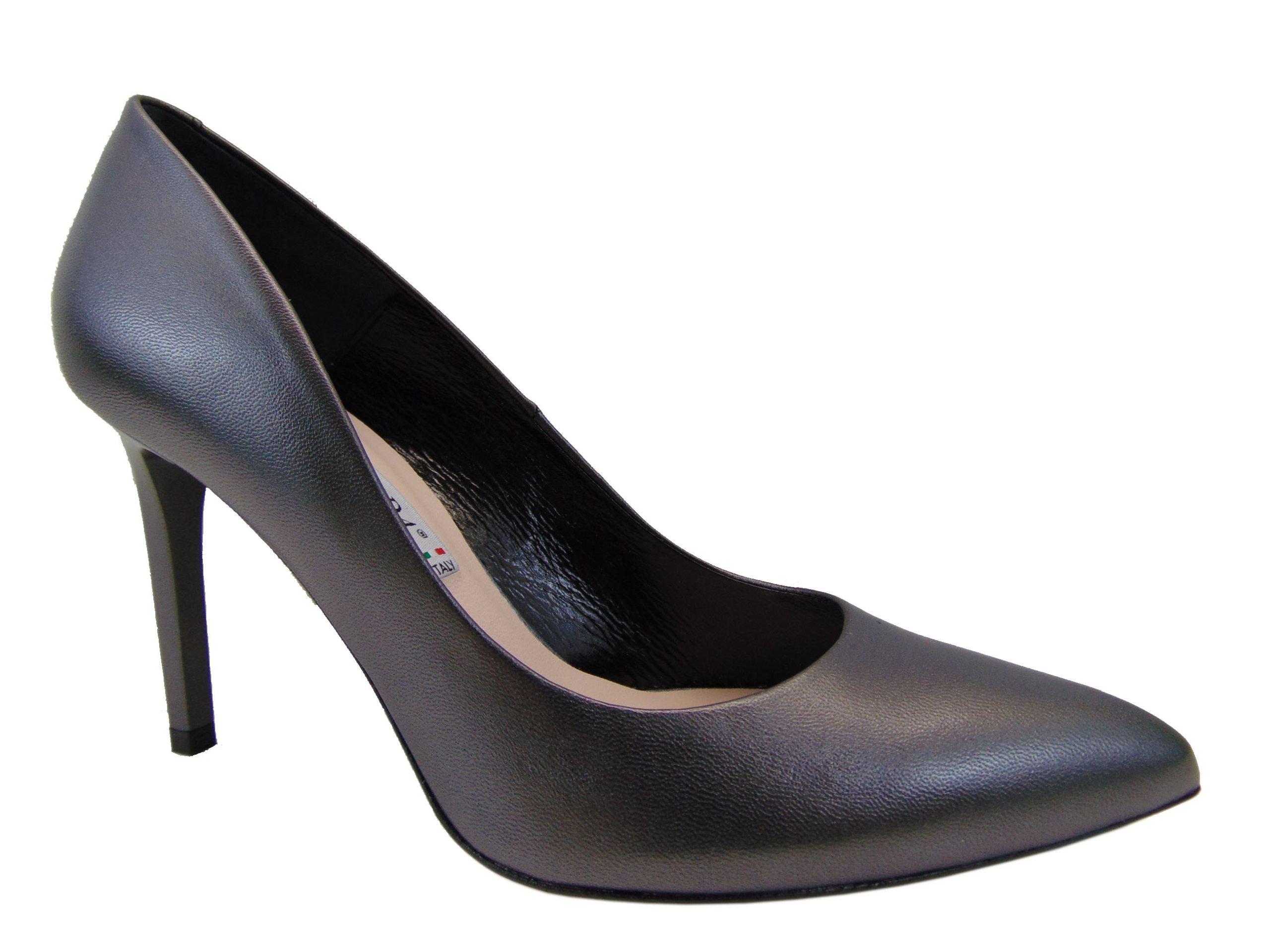 Czółenka Bravo Moda 1373 czarna perła