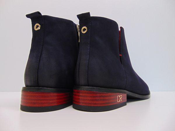 Carinii B4342-K59 botki granatowe