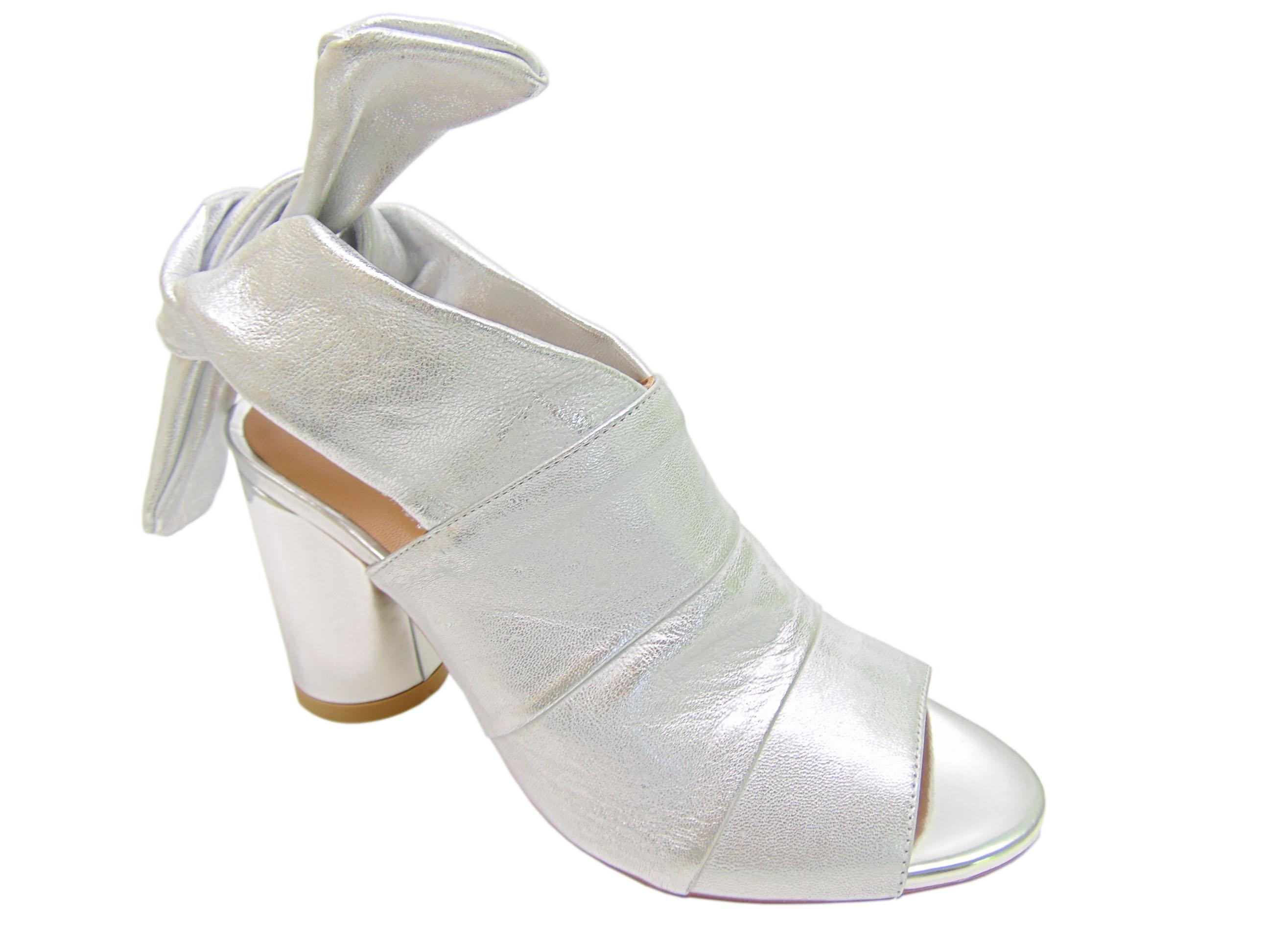130f91a6979a6 Sandały Badura 7787-69 srebrne | Buty damskie na lato, sandały ...