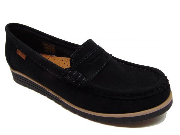 Maciejka 00871-01 półbuty lordsy czarne