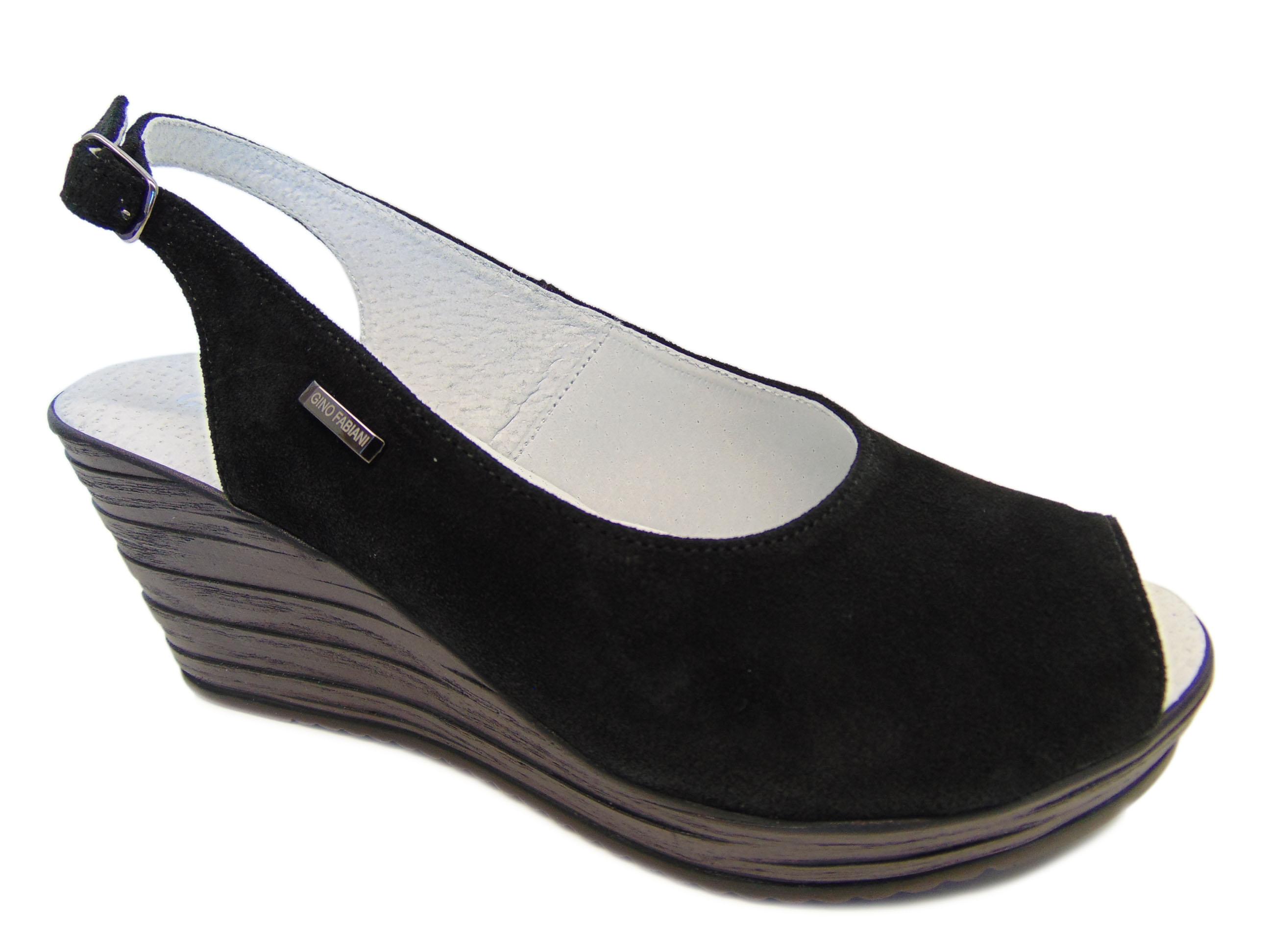 Gino Fabiani Rammit 1231 W-03 sandały czarne