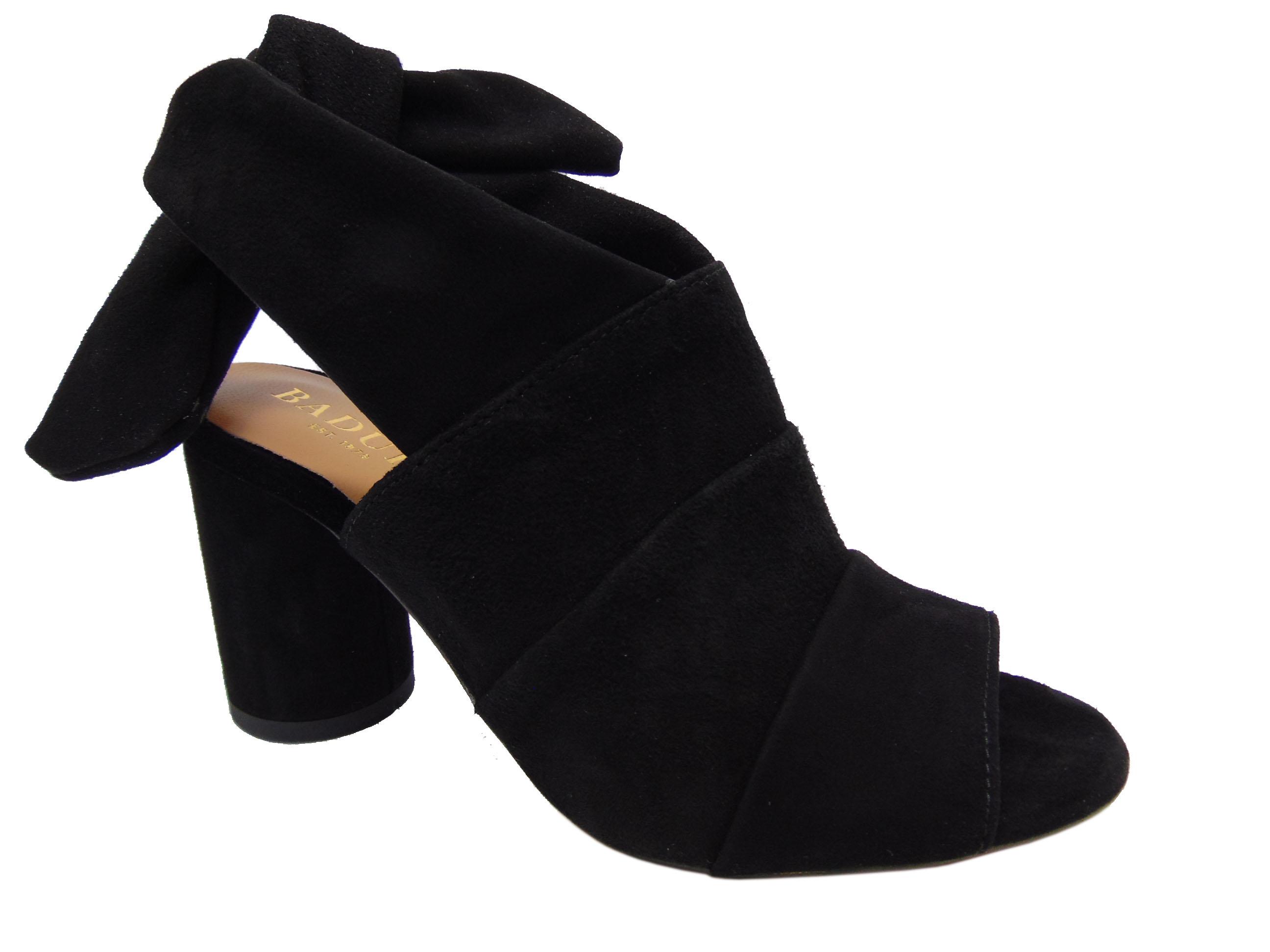 Badura 7787-69 sandały czarne