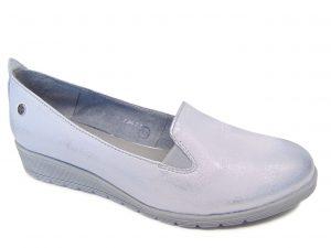 Maciejka 03561-35 półbuty srebrne