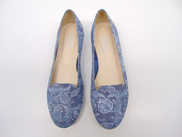 Gamis 3106-W178 mokasyny lordsy niebieskie