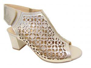 Stagórs 1060 sandały ażurowe złote