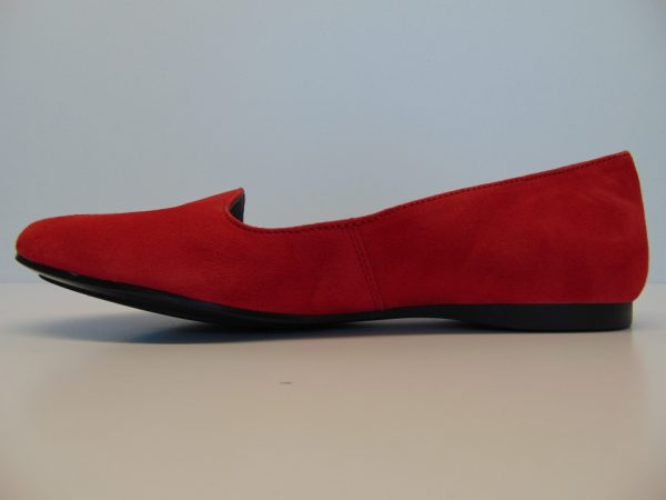 Maciejka 00871-43 półbuty baleriny czerwone