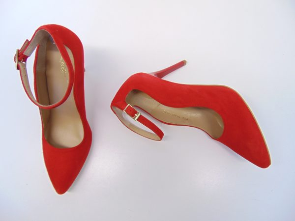 Czółenka Kati 2580-Z008 czerwone
