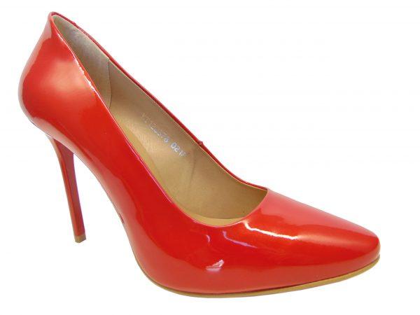 Kati 2378-L144 czółenka szpilki czerwone
