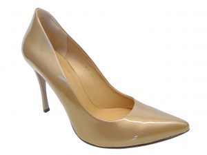 Kati 1473-L138 czółenka szpilki złote