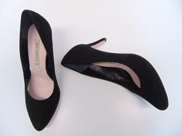 Czółenka Bravo Moda 1623 czarne