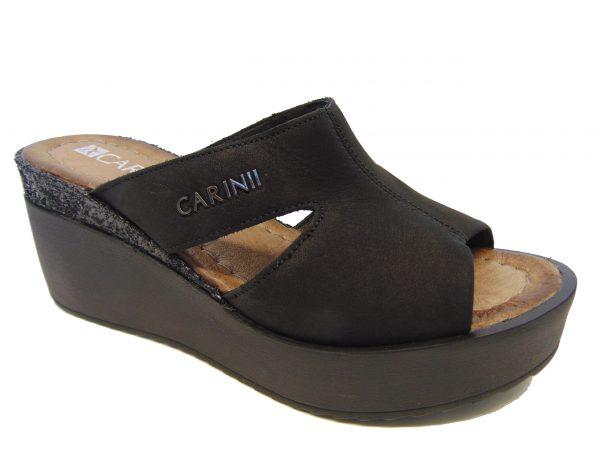 Klapki Carinii B4215-360 czarne
