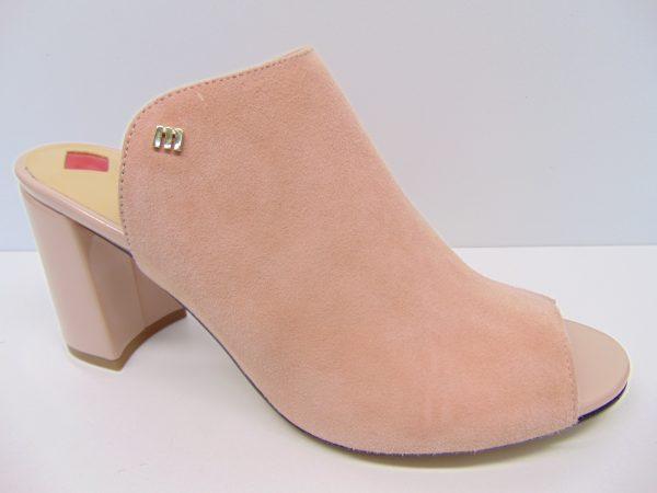Klapki Maccioni 644-171 różowe/łososiowe