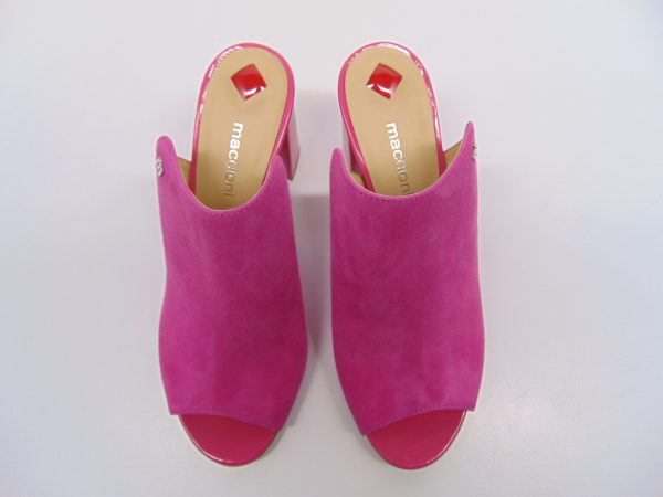 Klapki Maccioni 644-148 różowe