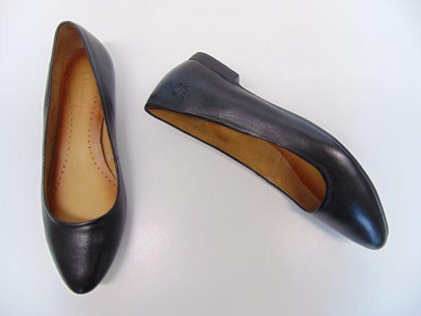 Maciejka 00873-01 baleriny półbuty czarne
