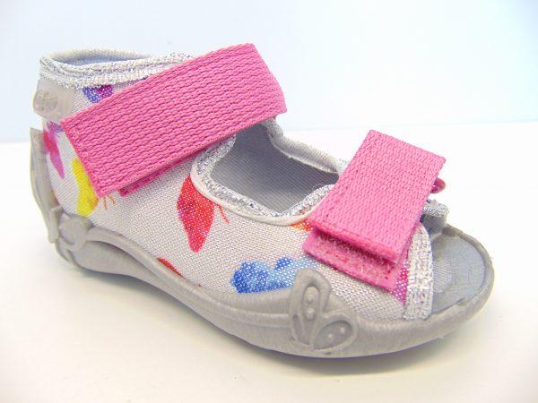 Befado 242P075 sandałki dziewczęce