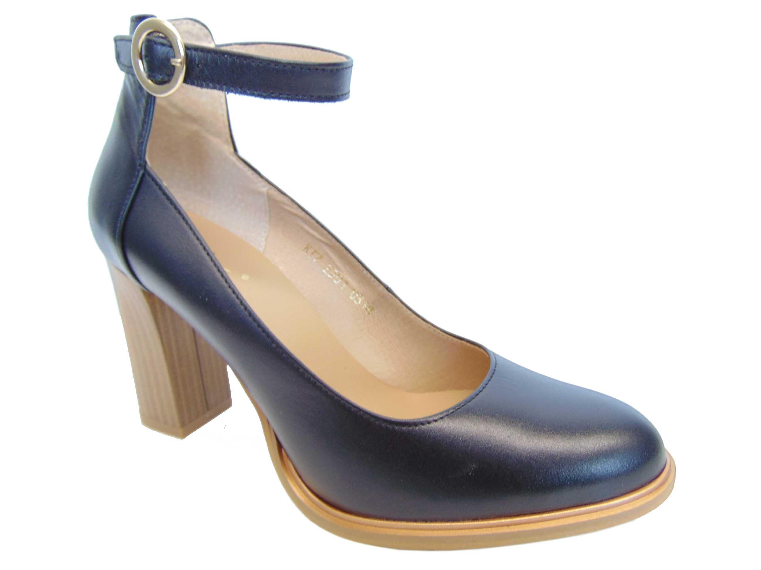 10d2080d Kati 2501-B173 półbuty czarne | Buty damskie na lato, sandały ...