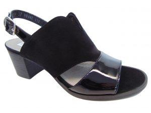 Sandały Nessi 18354-19 czarne