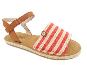 Monnari 0570-005 sandały czerwone
