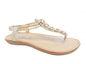 Monnari 0500-M23 sandały złote