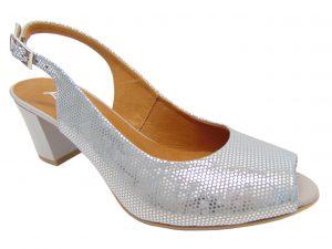 Sandały Kati 2638-I520 popiel/srebro