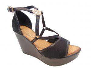 Sandały Carinii B4372-360 czarne