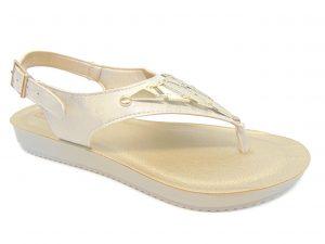 Sandały japonki Inblu BM016 białe