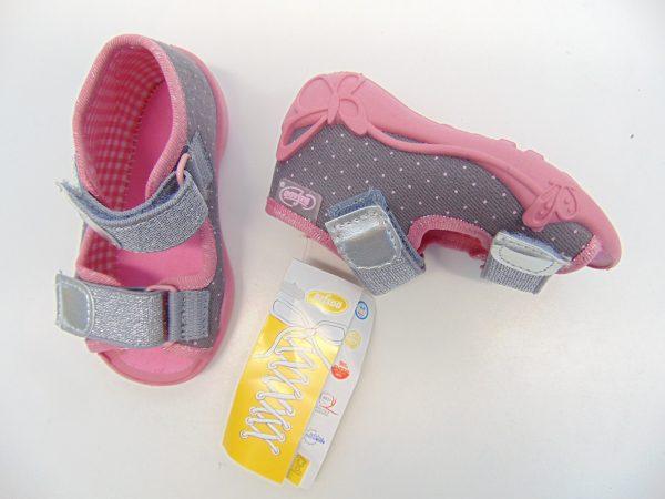 Befado 242P082 sandałki dziewczęce