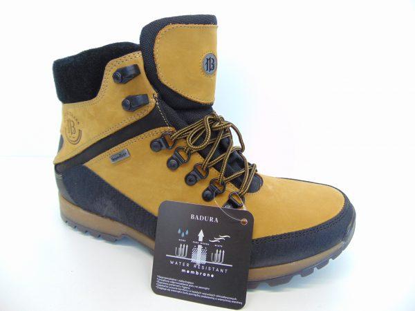 Buty trekkingowe BADURA 4620-371 żółte