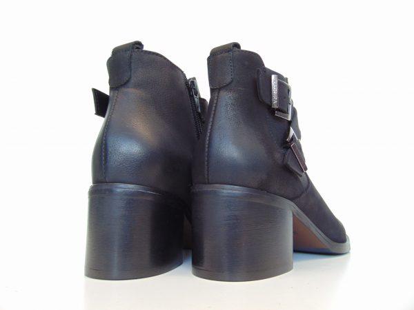 Botki Badura 7690-073 czarne