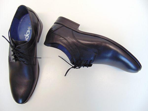 Nikopol 1677 D-4 półbuty skórzane czarne