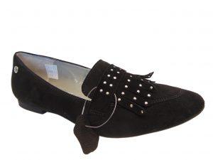 Baleriny Maciejka 03874-01 czarne