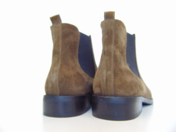 Botki sztyblety Nessi 71605-W1 brązowe