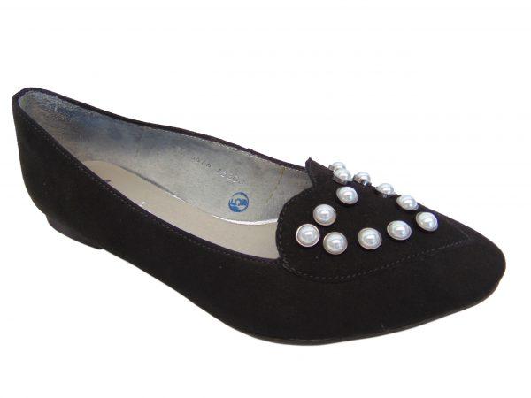 Baleriny Maciejka 03816-01 czarne