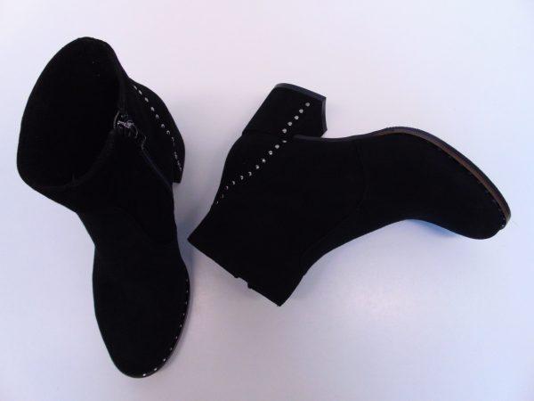 Botki Nessi 18429-19 czarne