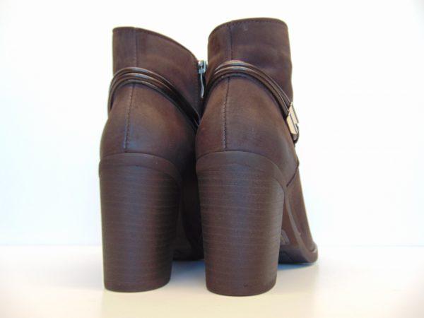 Skórzane botki Gamis 3508 brązowe